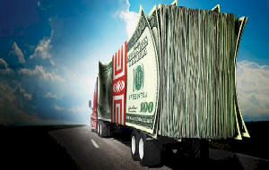 freight funding cash in your bank account